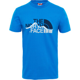 The North Face Mountain Line T-shirt Homme, bomber blue